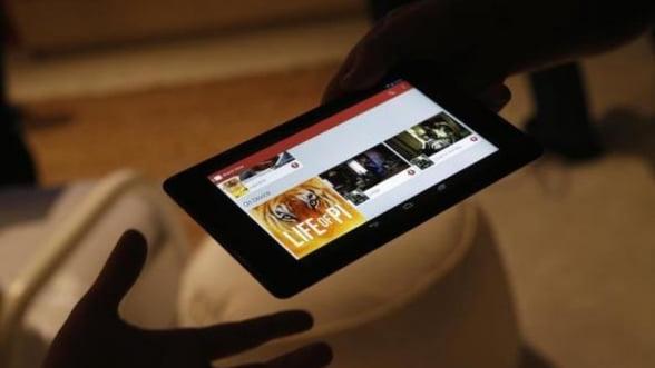 Google dezvolta o tableta ce poate captura imagini 3D