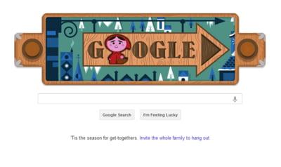 Google ii omagiaza pe Fratii Grimm printr-un logo special