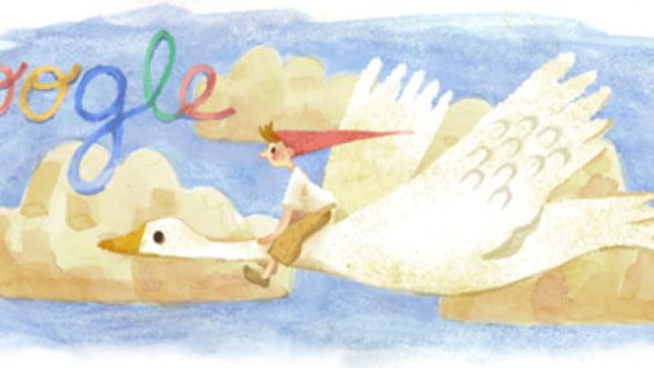 Google o aniverseaza astazi pe Selma Lagerlöf, autoarea faimosului personaj Nils Holgersson