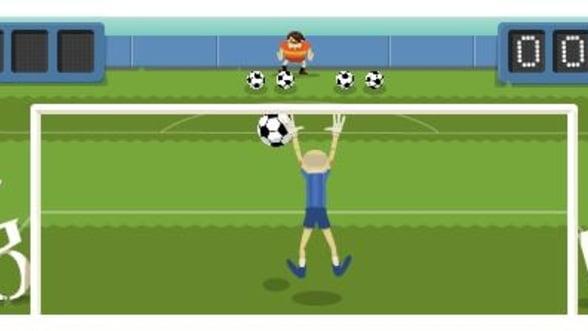 Google promoveaza fotbalul la Jocurile Olimpice, printr-un nou logo interactiv