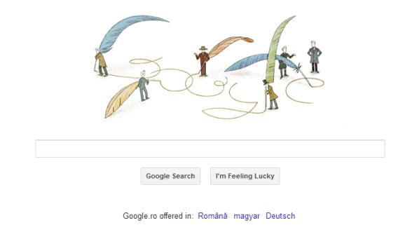 Google sarbatoreste 200 de ani de la nasterea filosofului Soren Kierkegaard