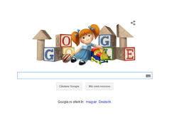 Google sarbatoreste Ziua internationala a copilului printr-un logo special