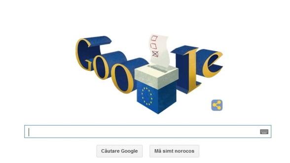 Google si-a schimbat logo-ul pentru alegerile europarlamentare