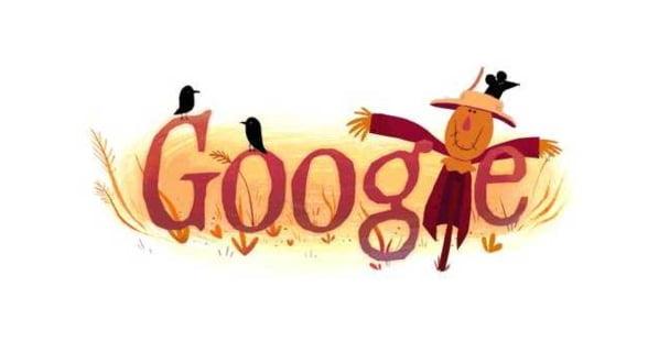Google si-a schimbat logoul, pentru a marca sarbatoarea de Halloween