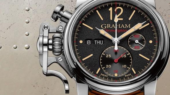 Graham Chronofighter Vintage, ceasul care te urca intr-un bombardier din Al Doilea Razboi Mondial