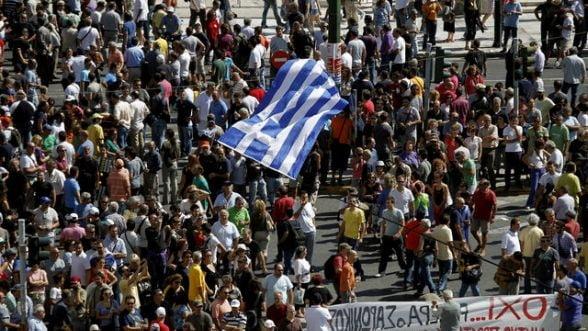 Grecia, puternic afectata de o noua greva nationala
