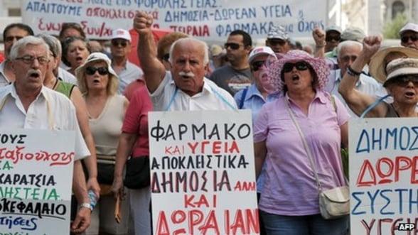 Grecia dezminte ca troica ar fi cerut oprirea pensionarilor pentru cetatenii sub 60 de ani