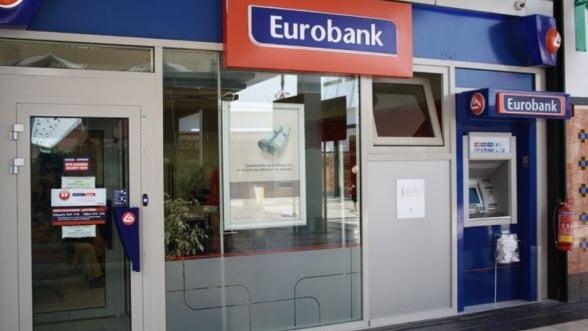 Grecia vrea sa vanda Eurobank in doua etape, incepand de anul viitor