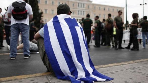 Grecii sunt cu 40% mai saraci decat in 2008
