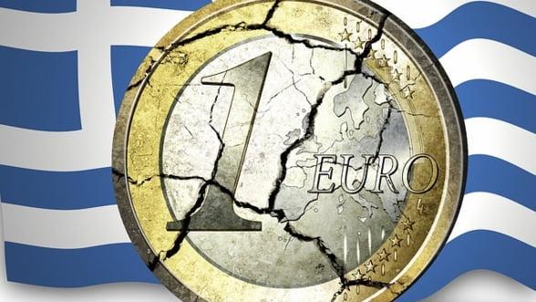 Grecii voiau sa goleasca bancile si sa revina la drahma