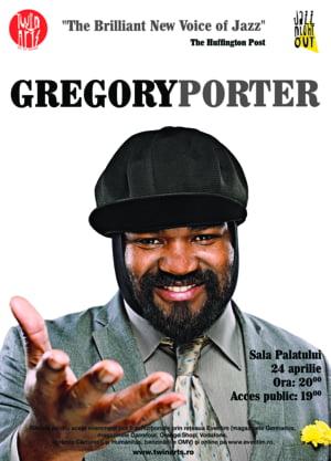 Gregory Porter, un vocalist de Grammy la Sala Palatului