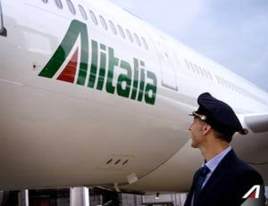 Greva la Alitalia din Europa - peste 140 de zboruri anulate