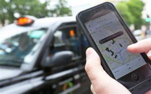 Greva taximetristilor europeni: Protesteaza fata de o aplicatie de smartphone