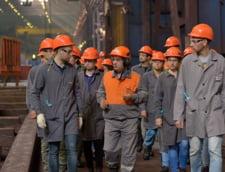 Grupul ArcelorMittal ar putea vinde combinatul de la Galati, la solicitarea Comisiei Europene