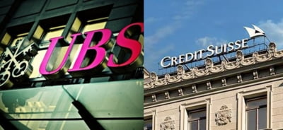 Diviziile de investment banking de la UBS si Credit Suisse, in pericol de a fi desfiintate