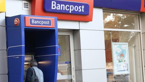 Grupul care detine Bancpost a inregistrat profit de 4,3 milioane de euro in Romania in T1