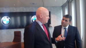 Guvern: BMW cauta companii din Romania dintr-un domeniu in plina expansiune