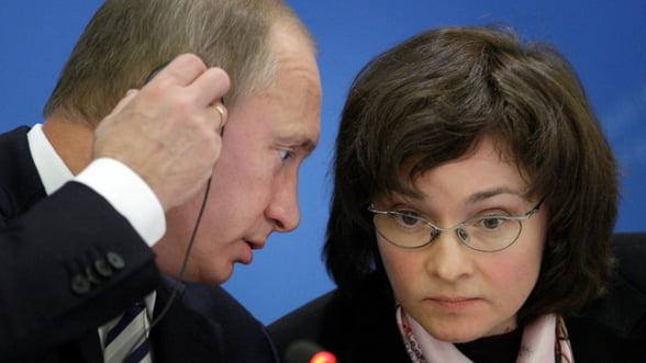Guvernatorul Bancii Rusiei recunoaste: Politica monetara este dictata de petrol