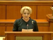 Guvernul Dancila a trecut de Parlament: 282 de senatori si deputati au votat noul Cabinet