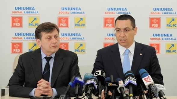 Guvernul Ponta: Care este programul de guvernare
