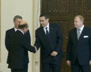 Guvernul Ponta 4 a depus juramantul: Ce ministri ar fi vrut Basescu sa refuze