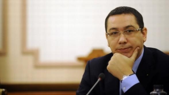Guvernul Ponta discuta vineri bugetul pe 2013
