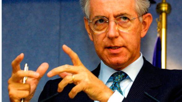 Guvernul italian adopta masuri pentru reducerea cheltuielilor publice