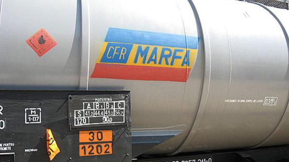 Guvernul va prezenta in februarie strategia pentru privatizarea CFR Marfa