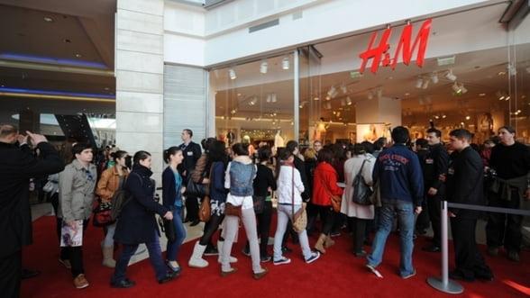 H&M continua strategia agresiva pe piata locala
