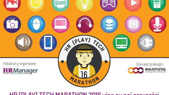 HR [PLAY] Tech Marathon, editia a II-a, vine cu noi provocari pentru managerii HR