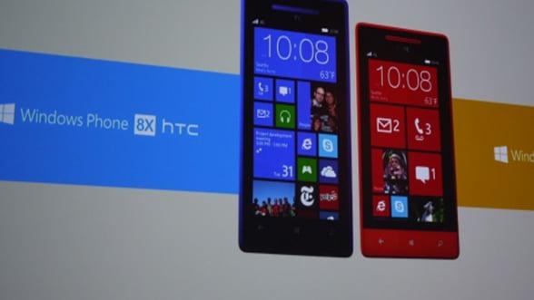 HTC lanseaza primele smartphone-uri pe baza de Windows Phone 8