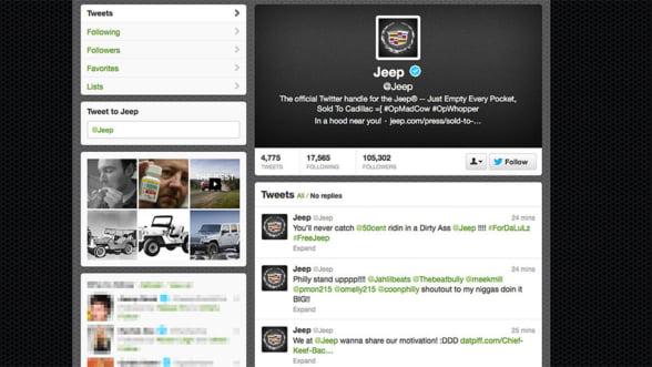Hackerii de pe Twitter au gasit un nou nume pentru Jeep
