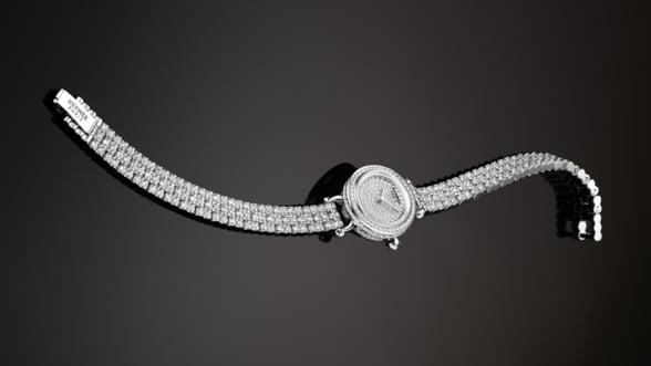 Hermes iti propune un nou ceas cu diamante: Da o alta valoare timpului!