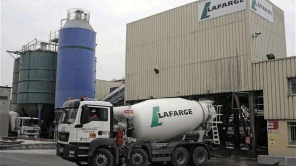 Holcim si Lafarge au notificat Comisia Europeana in legatura cu fuziunea celor doua companii