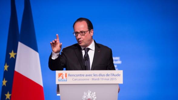 Hollande: In Franta e stare de urgenta - economia, mai ingrijoratoare decat siguranta nationala