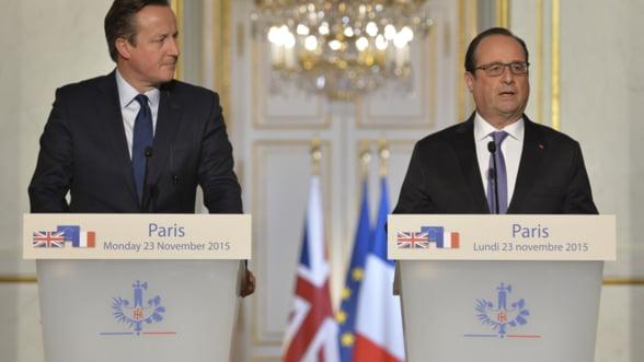 Hollande ii da peste nas lui Cameron: Marea Britanie nu va avea drept de veto si am incheiat discutia!