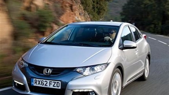 Honda Civic 1.6 Diesel ajunge si in Romania, de la 18.500 de euro