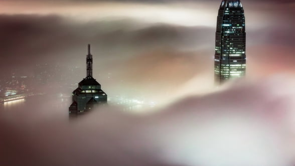 Hong Kong a intrat in recesiune tehnica, pentru prima data in ultimii 10 ani