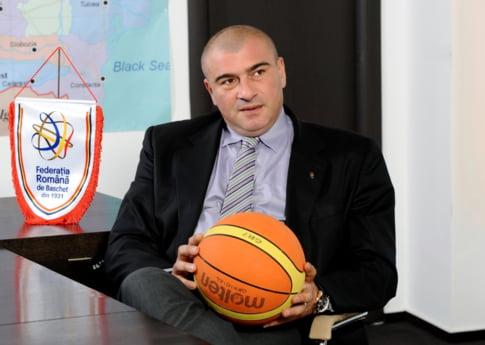 Horia Paun, presedintele F.R. Baschet: Despre management ca un sport de performanta