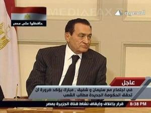 Hosni Mubarak a demisionat