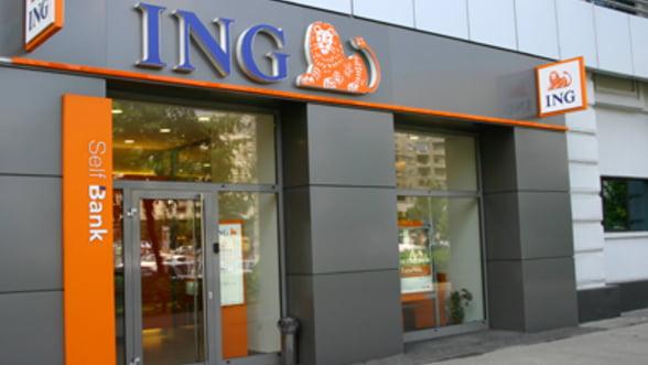 ING Bank: Profit net de 161 milioane lei in 2011