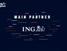 ING Bank Romania - Main Partner in cadrul DevTalks Reimagined, cel mai mare eveniment online dedicat profesionistilor IT&C din Romania