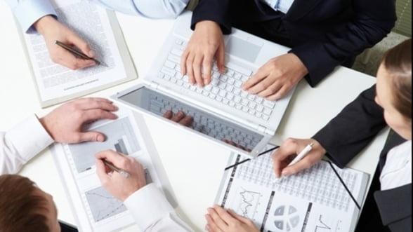 INS: Afacerile din serviciile de piata prestate intreprinderilor au crescut cu 7,7%