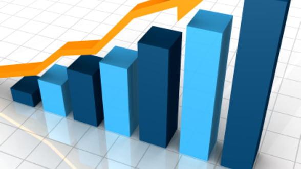 INS: Cifra de afaceri din serviciile de piata a crescut cu 8,3%, in primele cinci luni din 2013
