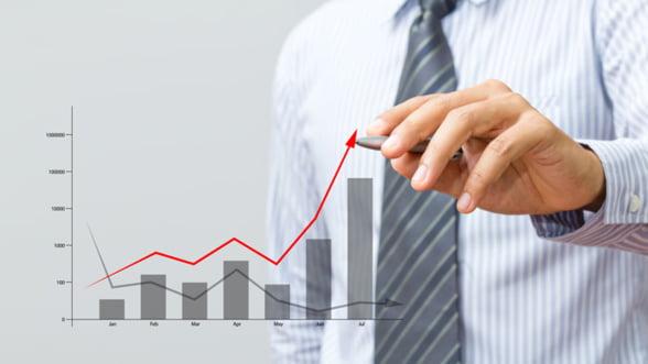 INS: Crestere reala a economiei in 2014 datorita industriei si comunicatiilor