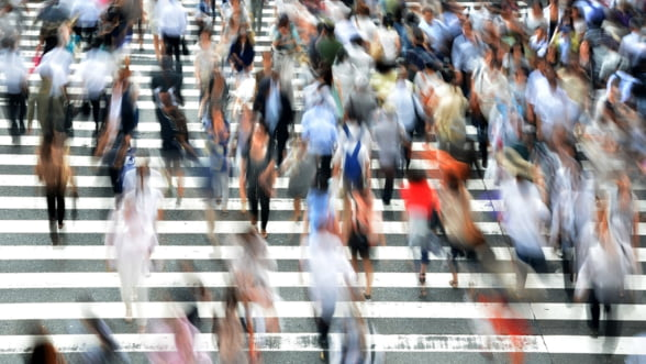 INS: Populatia Romaniei scade, majoritatea se concentreaza in mediul urban