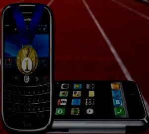 IPhone, invins de BlackBerry pe a doua cea mai mare piata din lume