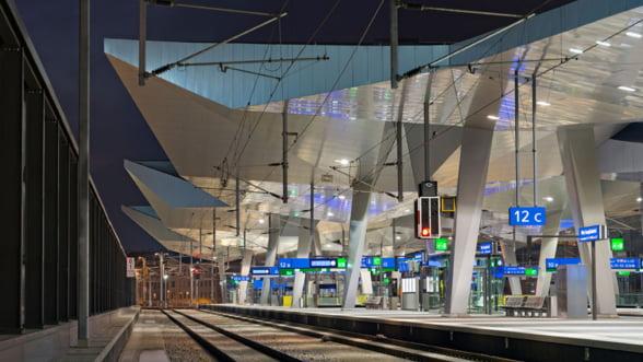 Ia-ti un bilet de tren spre Viena. Noua Gara Centrala te asteapta!