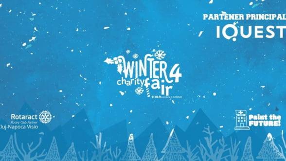 Iarna se numara faptele bune la cel mai cool targ caritabil: incepe Winter Charity Fair