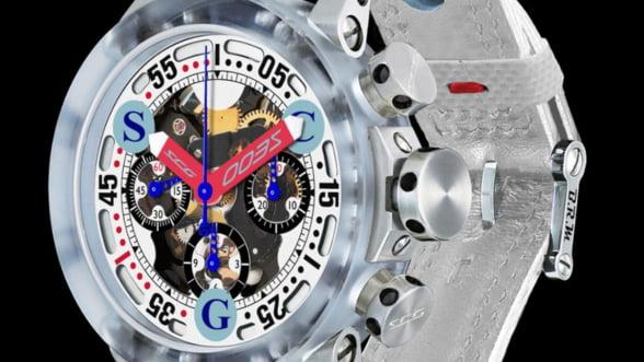 Iata ceasul care se poate asorta numai la un bolid Scuderia Cameron Glickenhaus